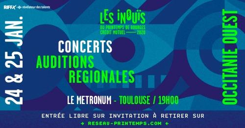 Culture & Vous Toulouse - Semaine du 20 janvier 2020