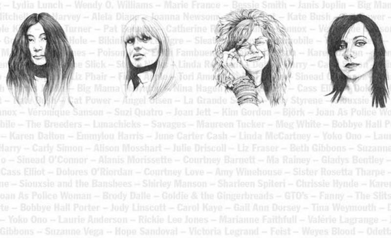 LIVRES ET MUSIQUE | SOPHIE ROSEMONT VALORISE LES PIONNIÈRES DU ROCK AVEC 'GIRLS ROCK'